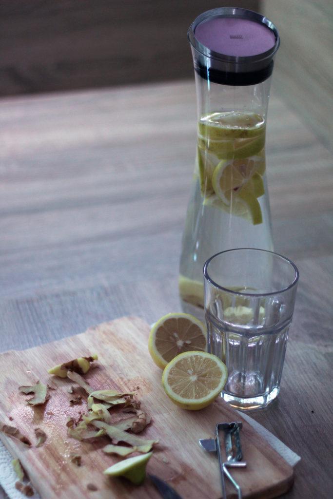 Zwiesel Kristallglas Karaffe für Wasser mit Geschmack