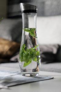 Zwiesel Kristallglas Karaffe für frisches Wasser mit Geschmack