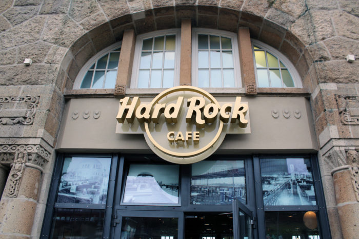 Hamburger Hafen - Hard Rock Café