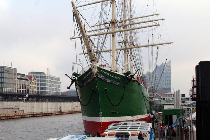 Hamburger Hafen - Schifffahrt