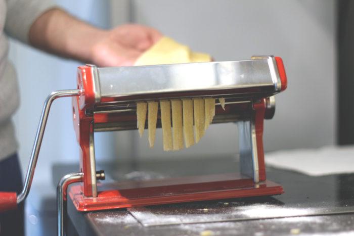 Pasta selber machen - Nudelmaschine