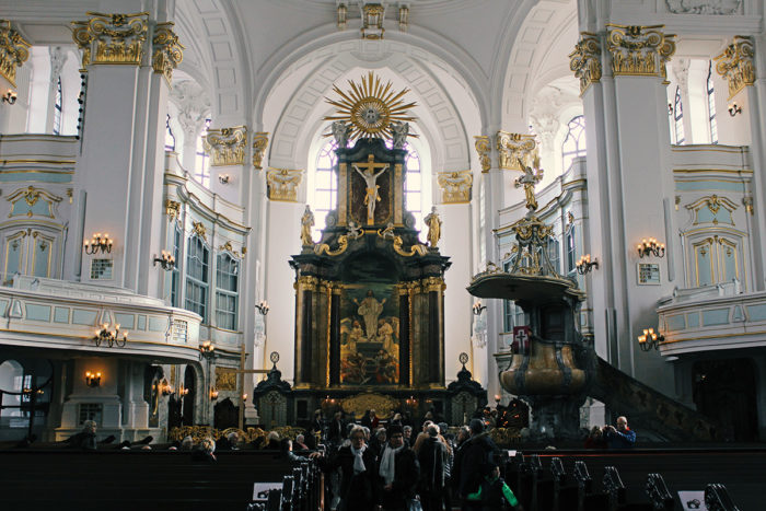 St. Michaelis Kirche Hamburg - Innenansicht