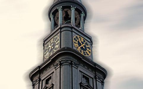 St. Michaelis Kirche Hamburg Außenansicht