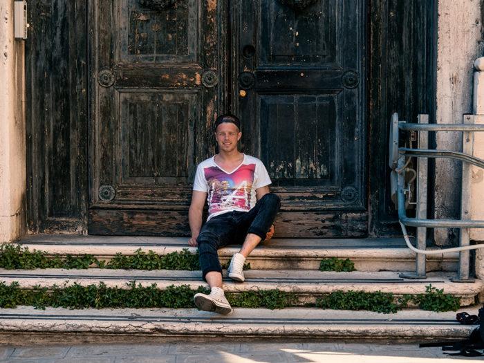 Venedig perfekt im Überblick - Alte Kirchentür