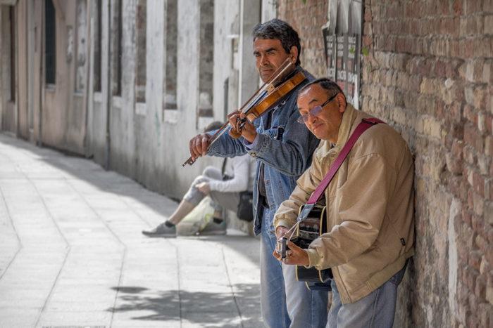 Musiker in Venedig