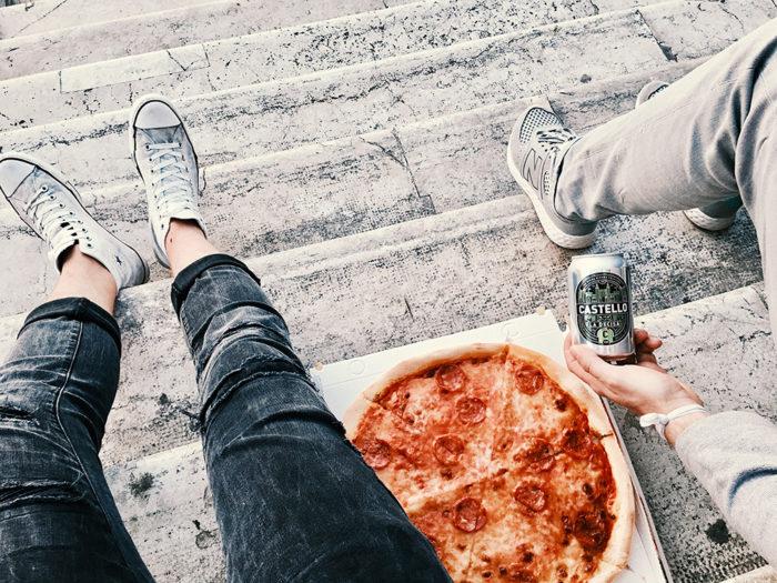 Venedig perfekt im Überblick - Pizza