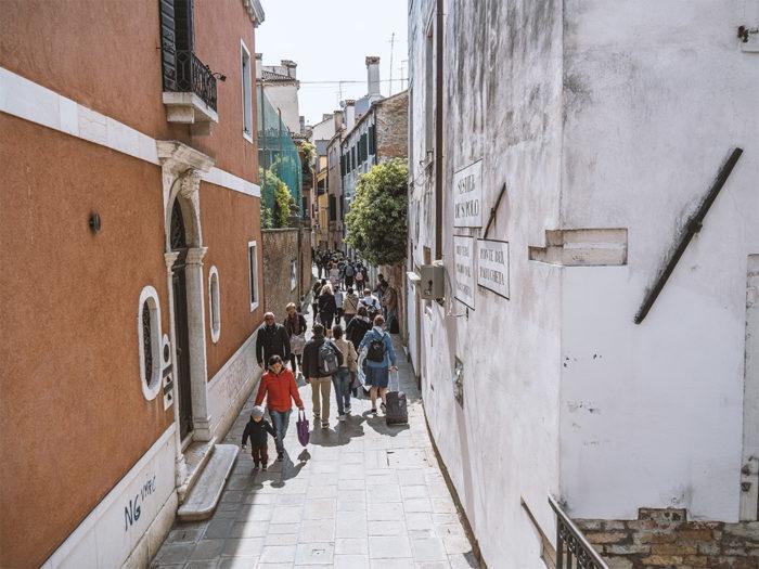 Venedig Reisegruppe