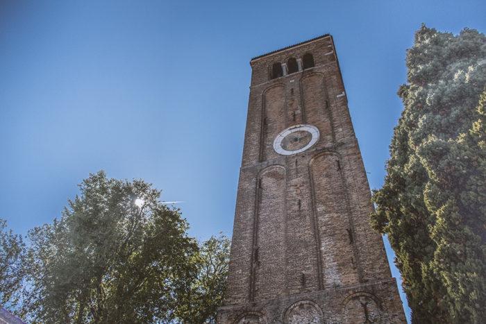 No goes von Venedig - Kirchturm auf Murano