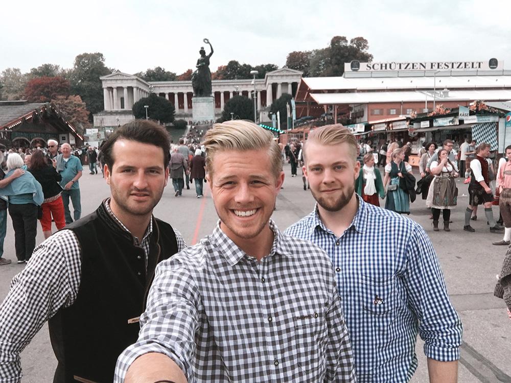 Oktoberfest 2017 Trio