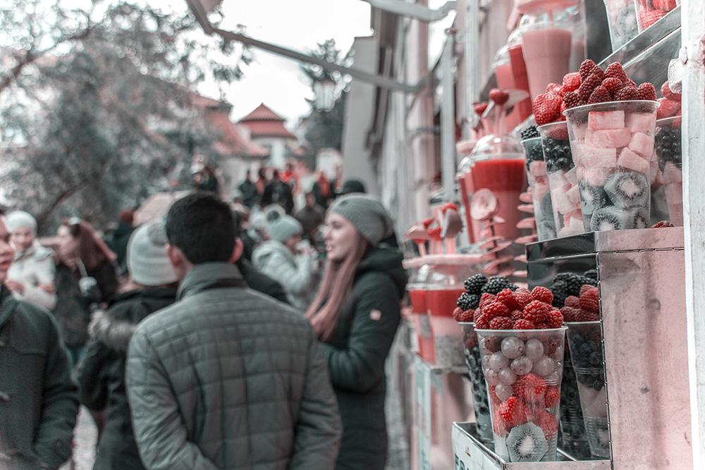 Prag Früchtebecher