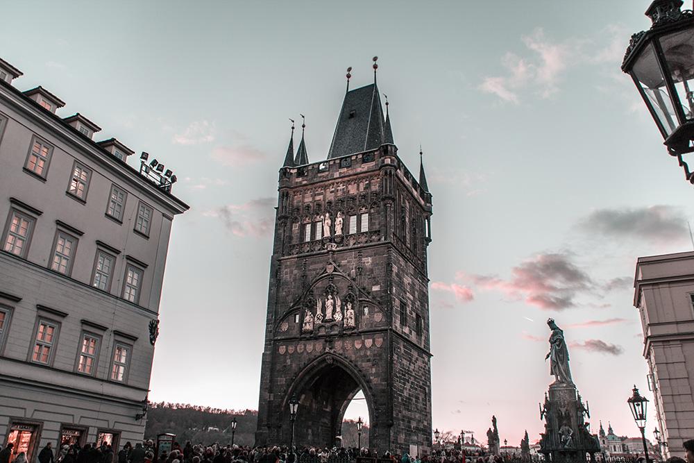 Prag Karlsbrücke Turm