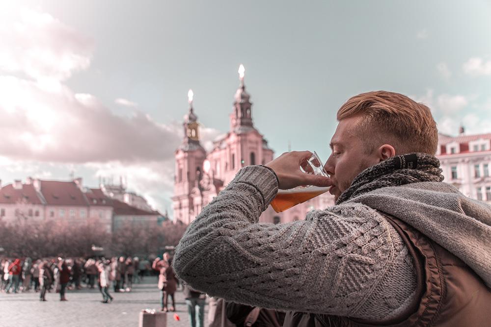Prag Staroměstské náměstí