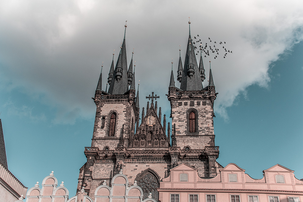 Prag Teynkirche
