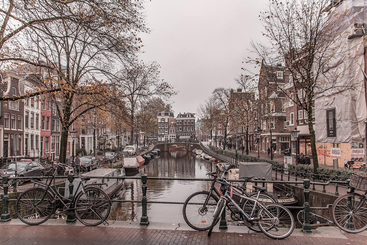 Amsterdam Kanalblick Grachtenfahrt