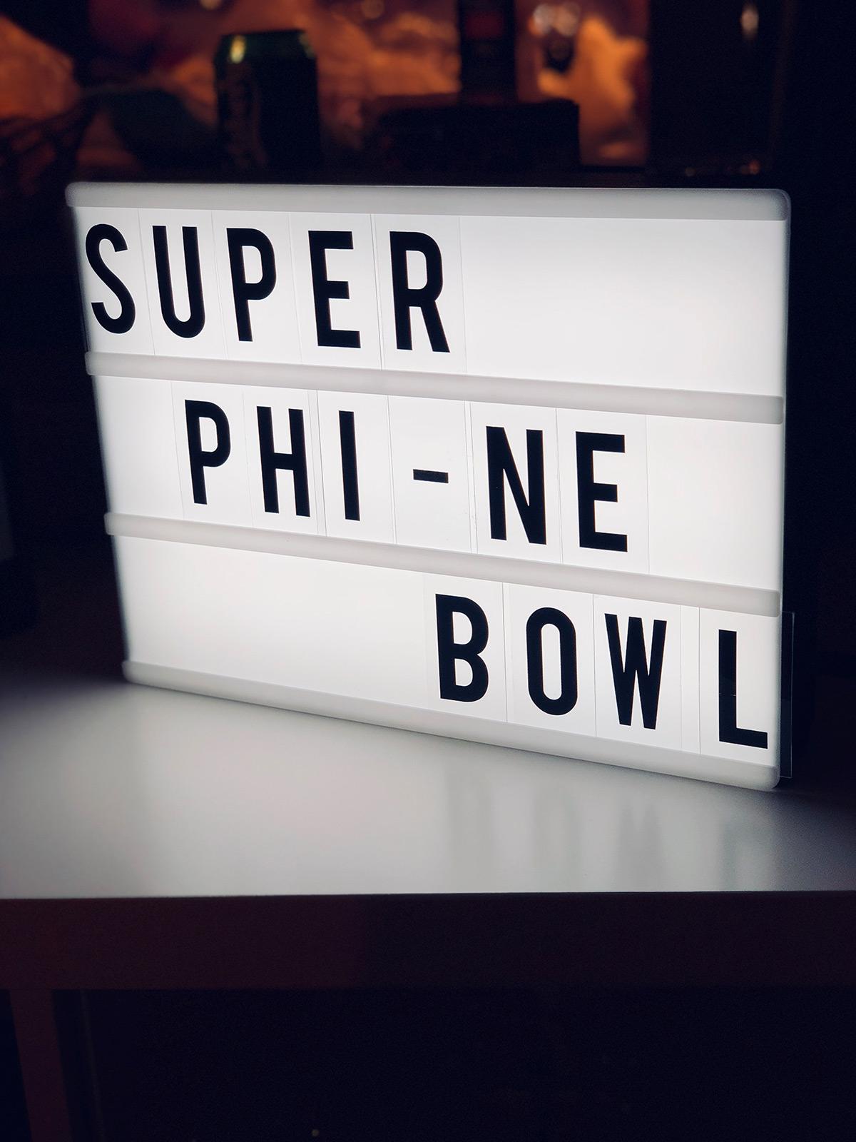 Super Bowl Nacht 2018 PHI - NE