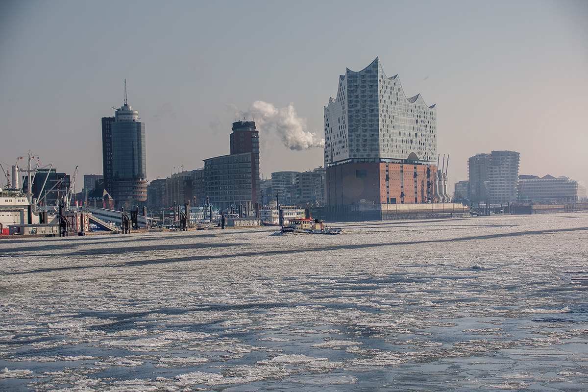 Winter in Hamburg - Elbphilharmonie
