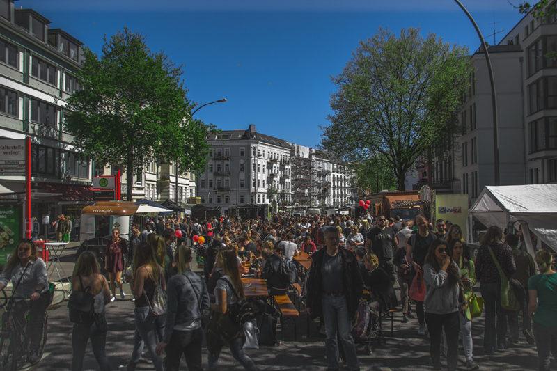 Osterstrassenfest Hamburg Eimsbüttel