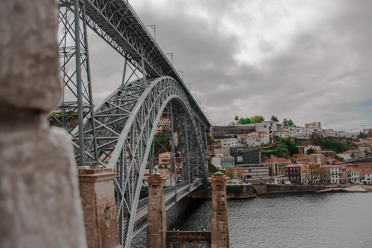 Brücke in Porto (Ponte Dom Luís)
