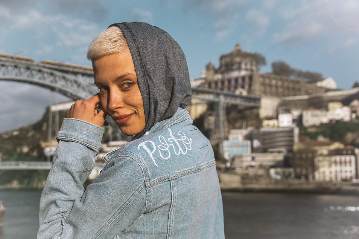 Porto russische Bloggerin