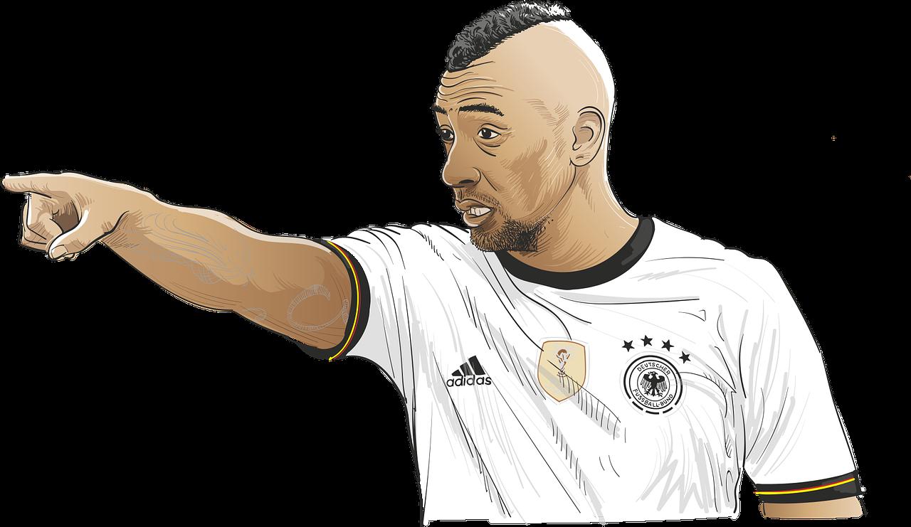 Fußball Weltmeisterschaft verbindet - Jerome Boateng