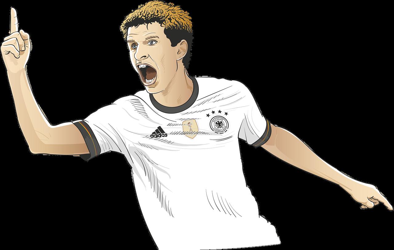 Fußball Weltmeisterschaft verbindet - Thomas Müller