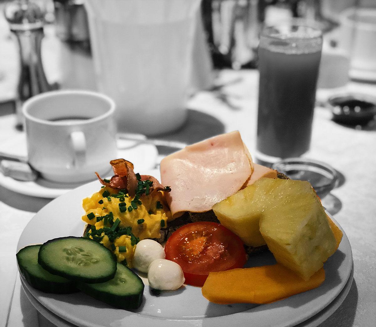 Hotel Der Wilhelmshof Wien Frühstück