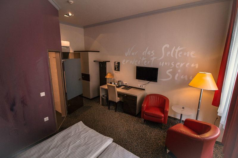 Hotel Der Wilhelmshof Wien Zimmer