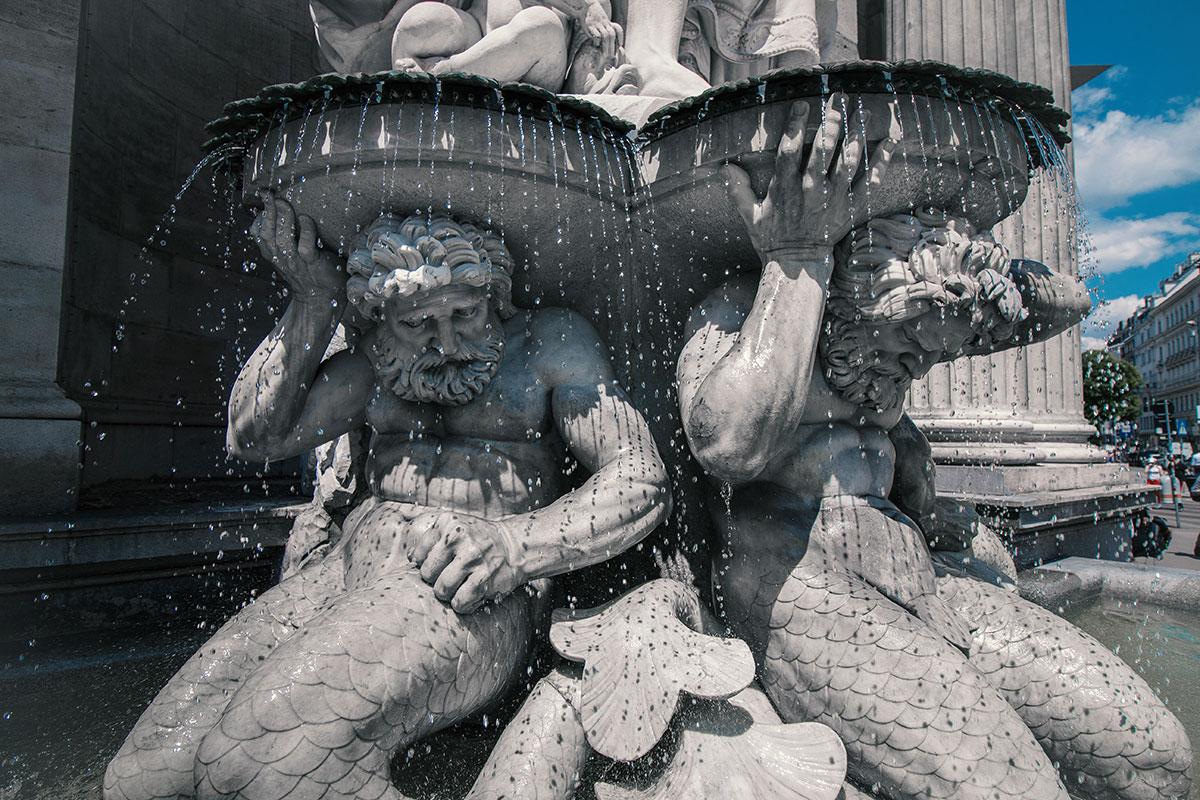 Mein Wien Reisebericht Albertina Statue