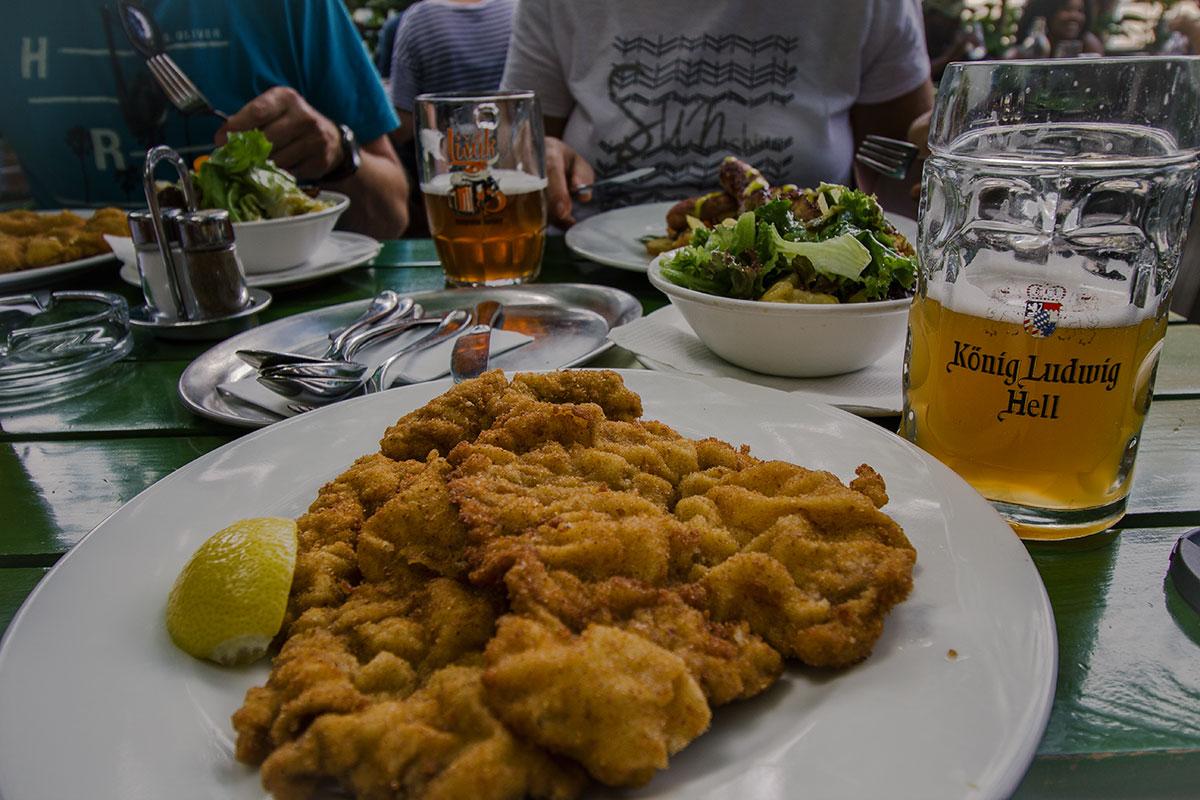 Mein Wien Reisebricht Glacis Beisl Wiener Schnitzel