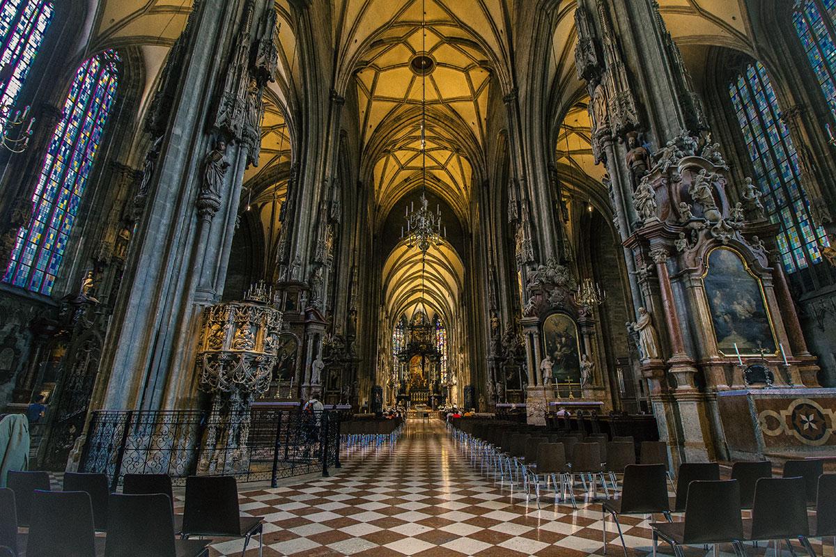 Stephansdom Wien Innenansicht