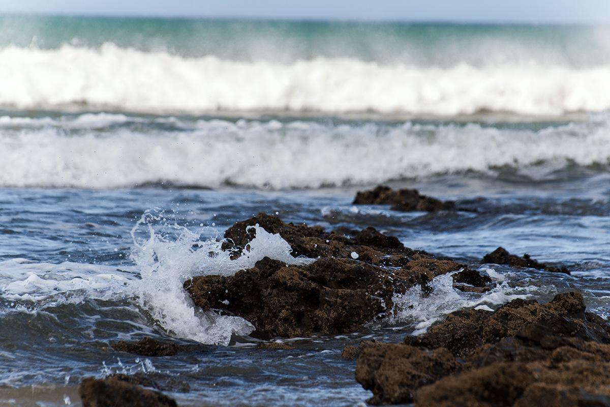 Jeffreys Bay - Meer, Riff und Wellen
