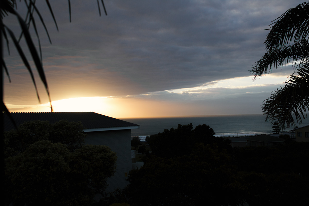 Sonnenaufgang in Jeffreys Bay