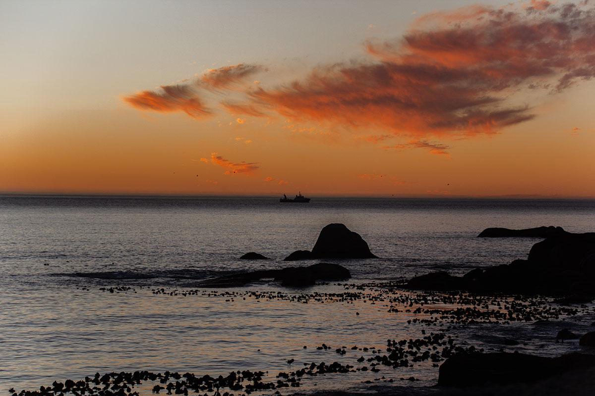 Kap der guten Hoffnung Kapstadt Camps Bay Sonnenuntergang