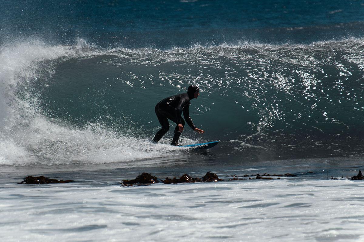 Kap der guten Hoffnung Surfer am Strand von Kommetjie