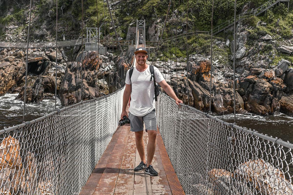 Storms River Hängebrücke Südafrika Reisebericht
