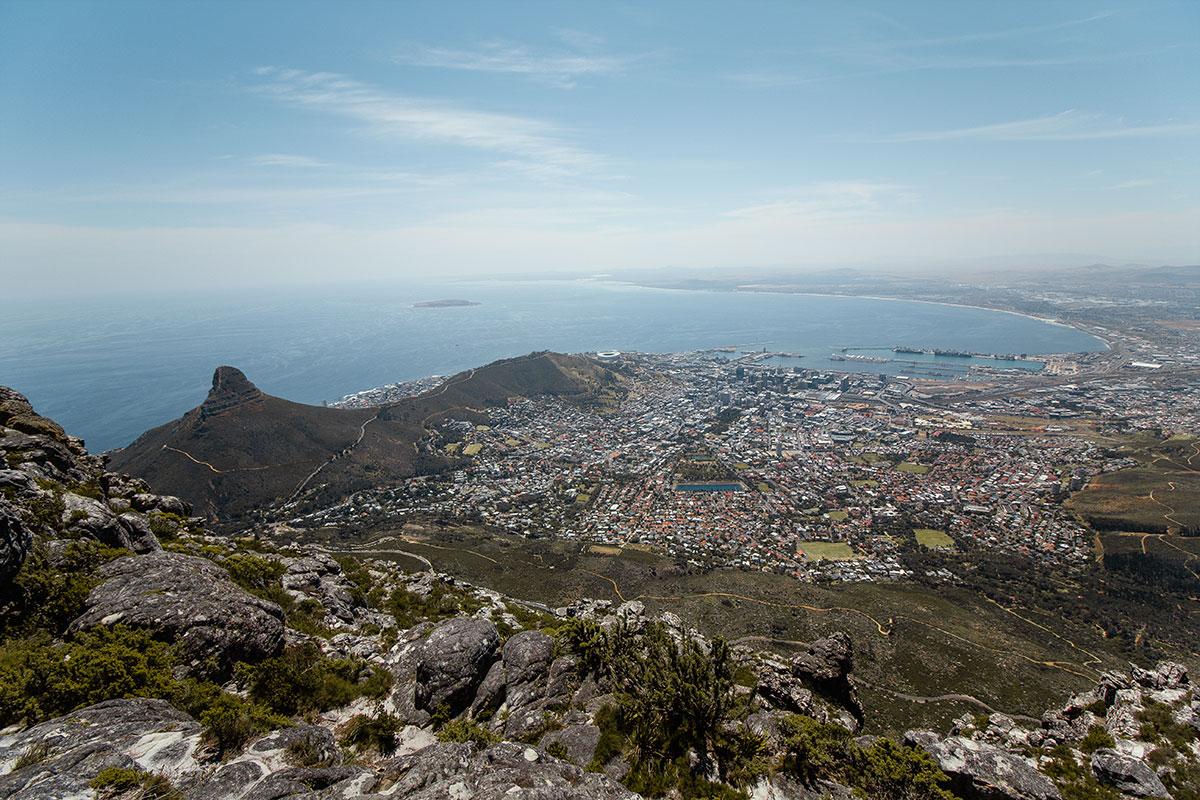 Tafelberg Kapstadt Südafrika Reisebericht