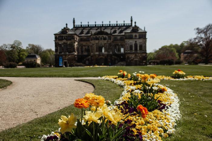 Dresden Palais Großer Garten