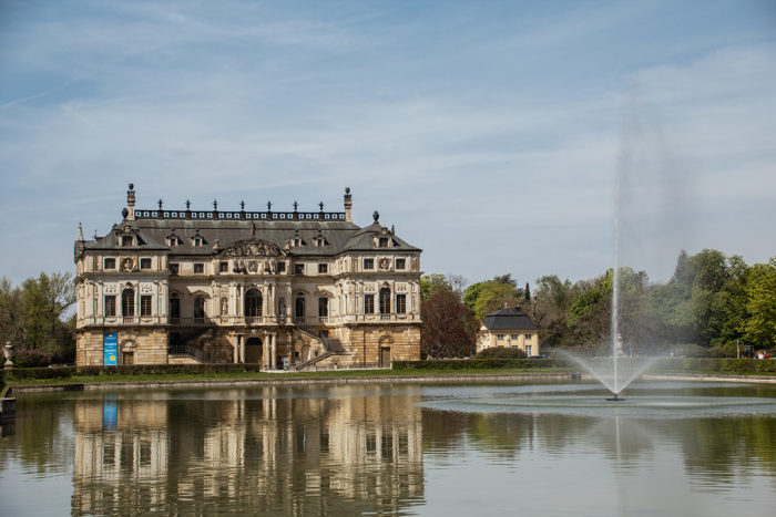 Dresden Palais Großer Garten mit See