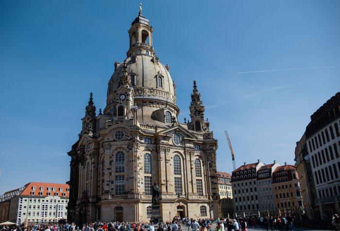 Frauenkirche Dresden in voller Pracht