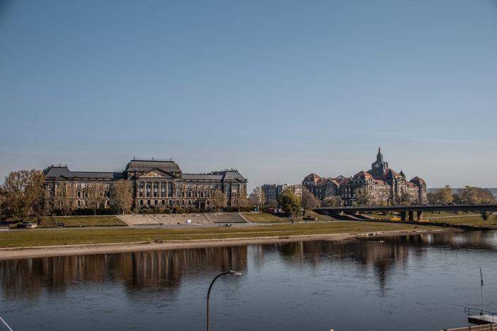 Staatskanzlei und Finanzministerium Dresden