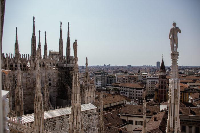 Dachterrasse Duomo Milano