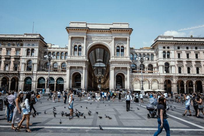 Das Kaufhaus Galleria Vittorio Emanuele II