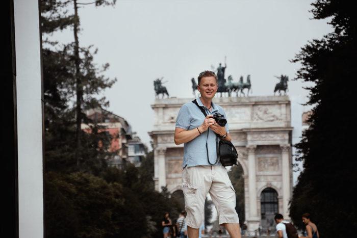 Mailand Lumix Fotografie am Arco della Pace