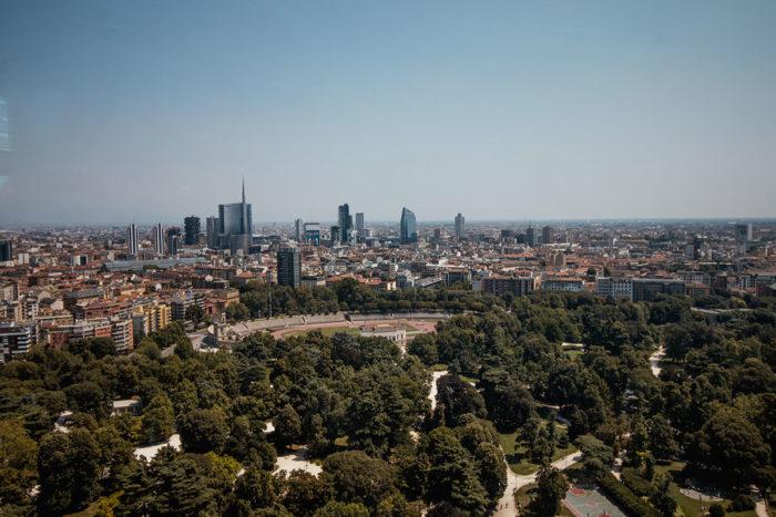 Torre Branca Mailand Aussichtsturm