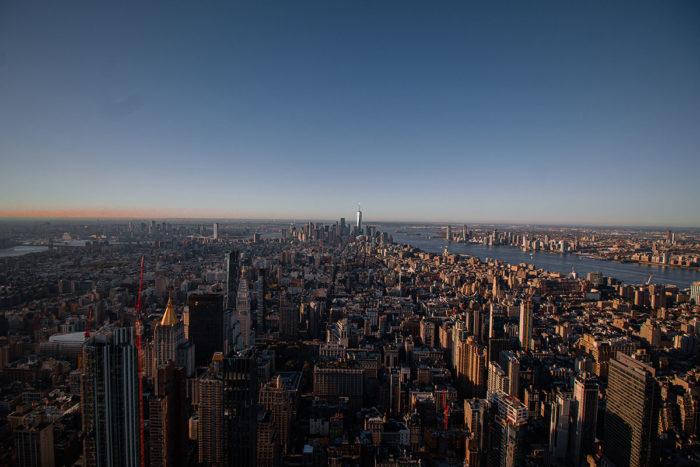 Empire State Building Ausblick Richtung Süden