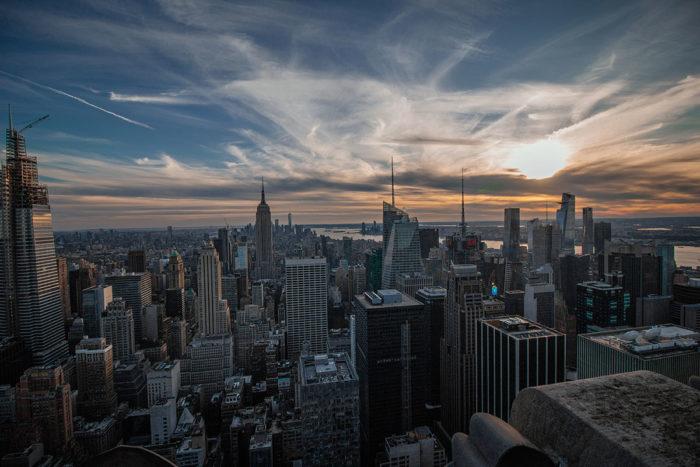 New York von oben entdecken