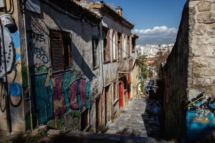 Altstadtflair in Athen