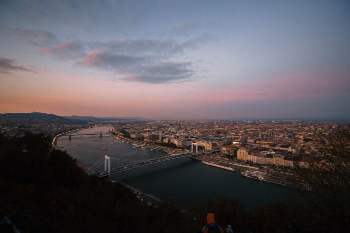 Budapest Stadt und Donau