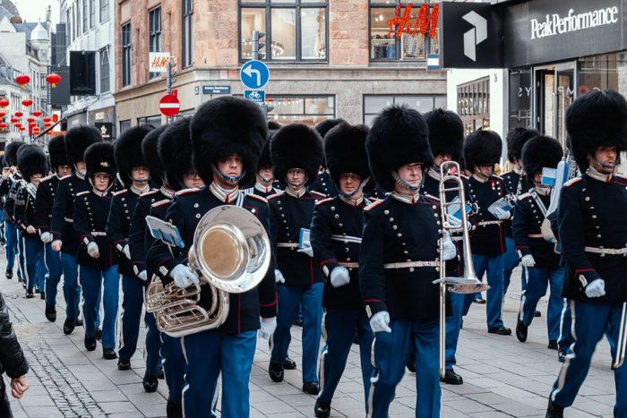 Kongelige Livgarde Garde Kopenhagen