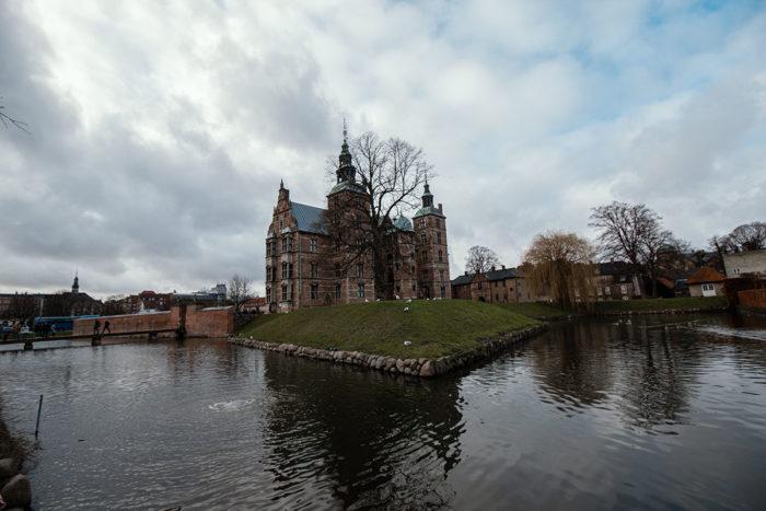 Kopenhagen Schloss im Park